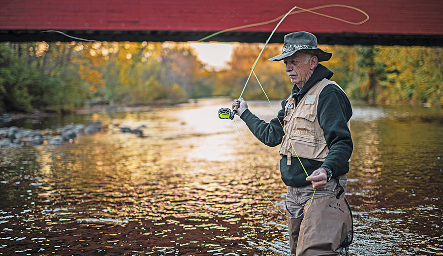 Fly Fishing on the Battenkill