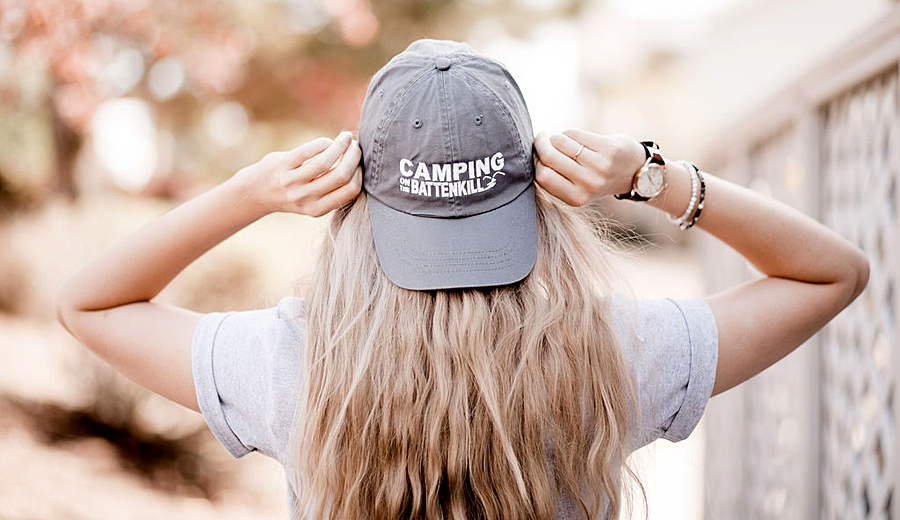 Camping on the Battenkill merchandise, available in our store